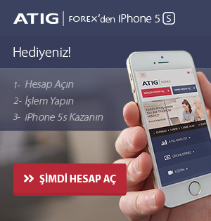 ATIG FOREX'den iPHONE 5s