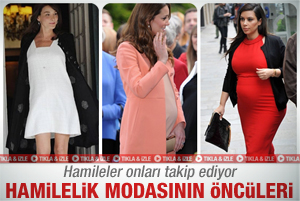 Hamilelik modasnn son ncleri 